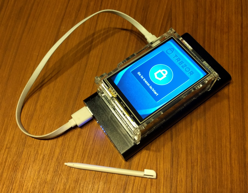 Trezor Emulator on Raspberry Pi · Pavol Rusnak